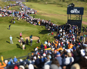 A Day at The Open